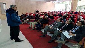 Conférence présentée par monsieur Sid Ahmed Ferroukhi (ex-ministre) à l'ISTA Blida1 (deuxième partie).