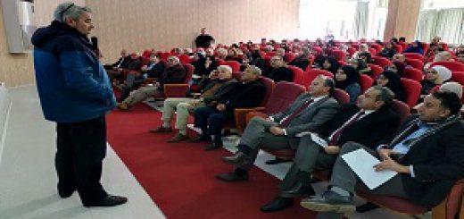 Conférence présentée par monsieur sid Ahmed ferroukhi à l'Ista Blida