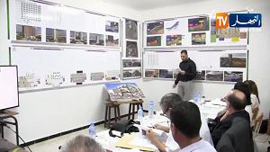 مناقشة مذكرة ماستر في معهد الهندسة المعمارية بجامعة البليدة 1 باللغة الإنجليزية