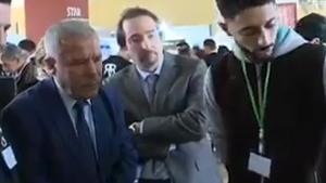 Compétition inter_universitaire en aéronautique_ Couverture de canal Algérie